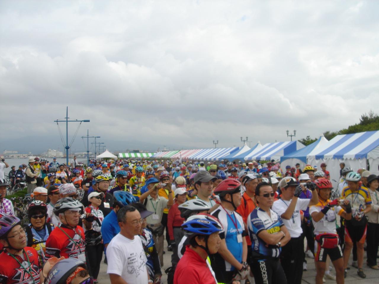 日本サイクリング協会の全国大会写真