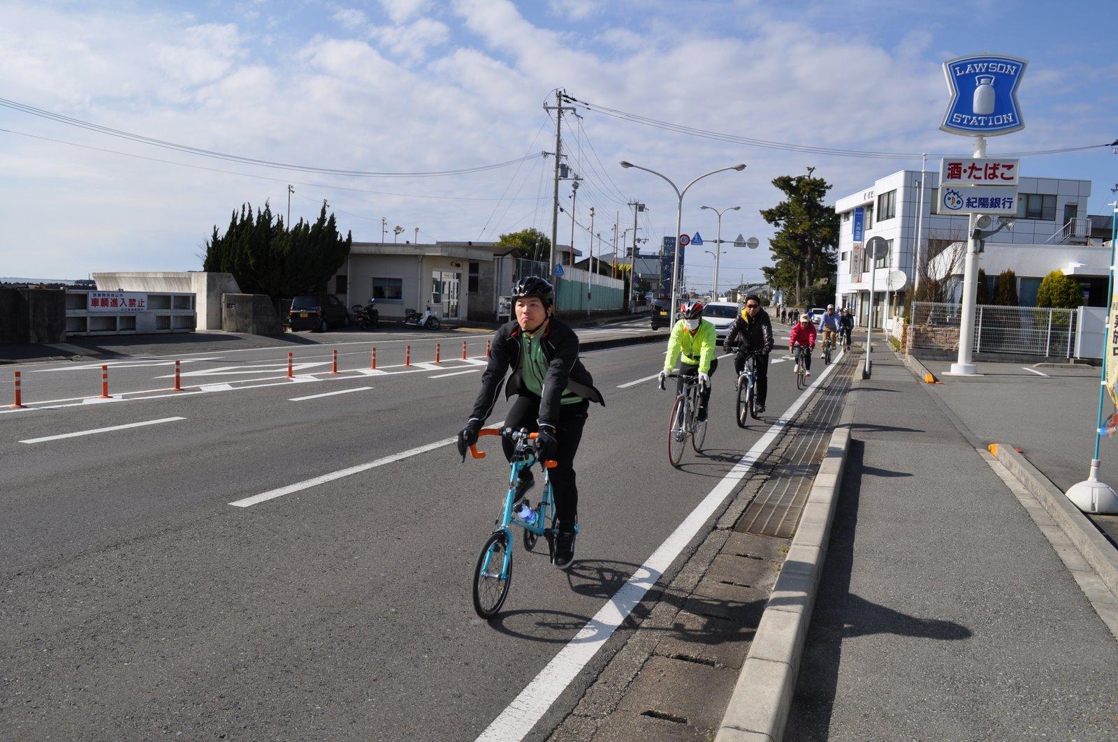 白浜サイクリング
