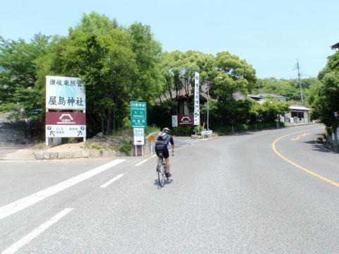 讃岐うどんと阿波街道サイクリング下見