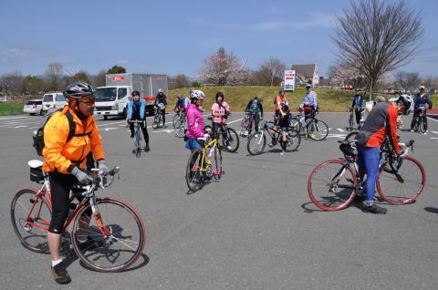 奥琵琶湖 海津大崎の桜 日帰りお花見サイクリング(2010.4.10) - 11