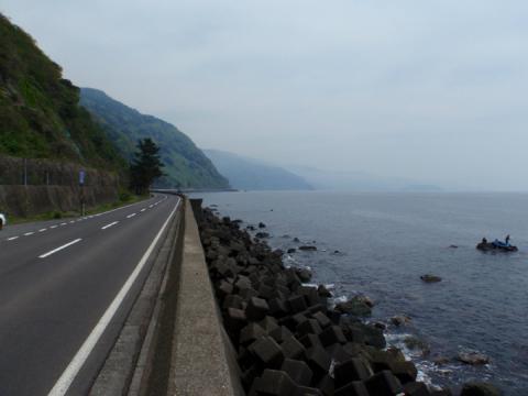 越前海岸サイクリング下見