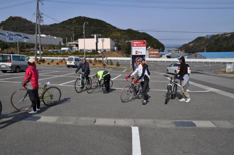 南部梅林観梅 南紀白浜くえ料理 早春九絵サイクリング(2010.2.13〜14)