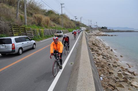走り屋の勲章 淡路島一周サイクリング - 37